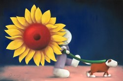 Bring the Sunshine by Doug Hyde -  sized 30x20 inches. Available from Whitewall Galleries